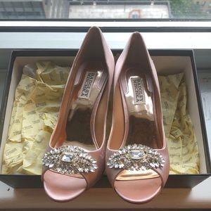 Badgley Mischka Lavender II Heels!